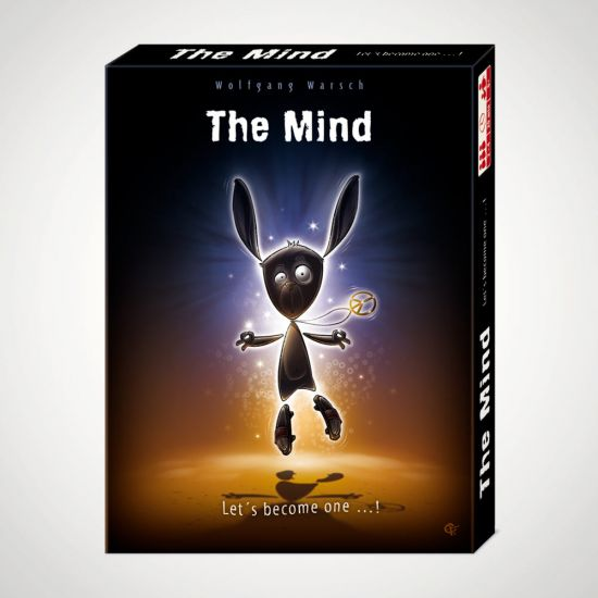 The Mind Card Game - grey background
