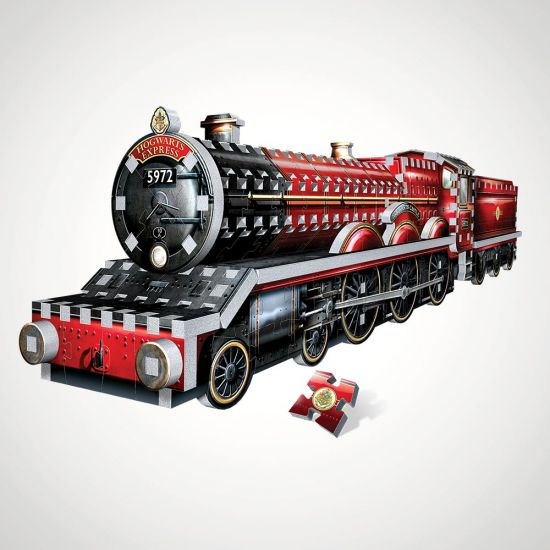 Harry Potter Hogwarts Express 3D Puzzle - Grey background