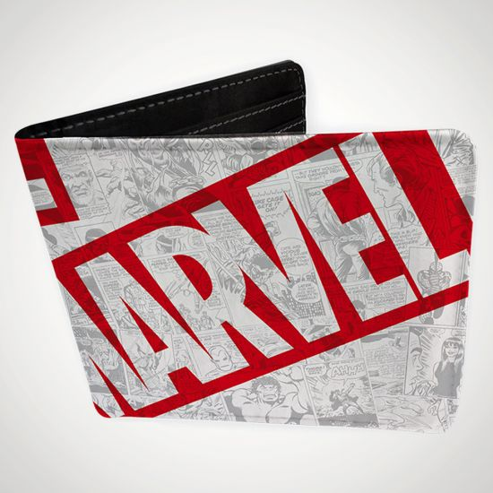 Marvel Universe Wallet Vinyl - grey background