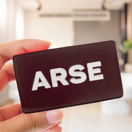 Arse Face Soap Bar - lifestyle