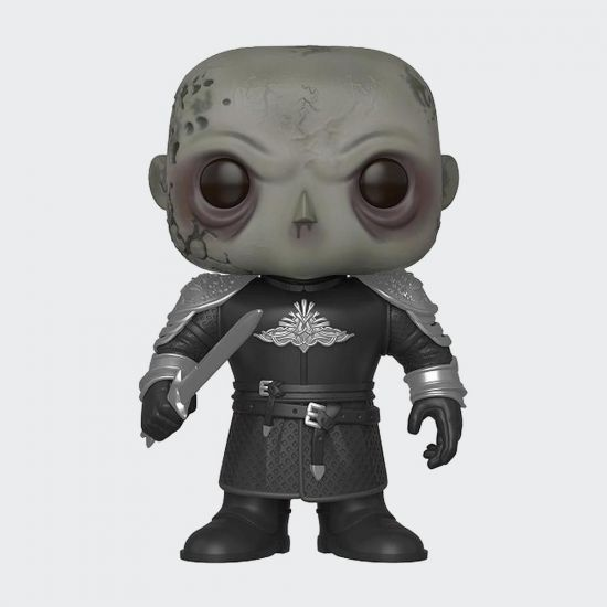 """Game of Thrones 6"""" The Mountain Unmasked Pop! Vinyl - Grey Background"""