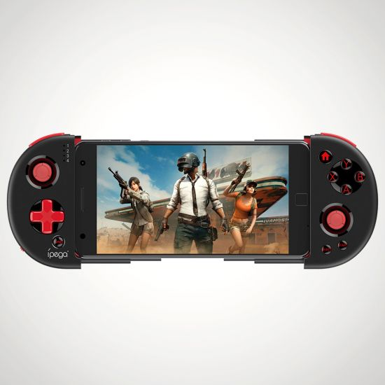 Bluetooth Game Pad Red Knight - grey background