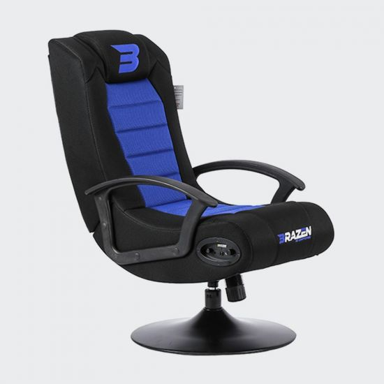 BraZen Fusion 2.1 Bluetooth Gaming Chair – UK Exclusive - Grey Background