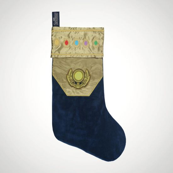 EXCLUSIVE Thanos Gauntlet Christmas Stocking - grey background