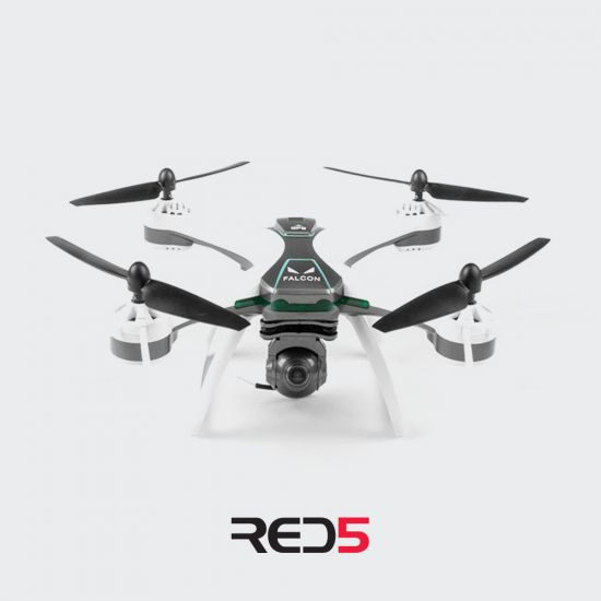 RED5 GPS Falcon FPV Drone - Grey Background