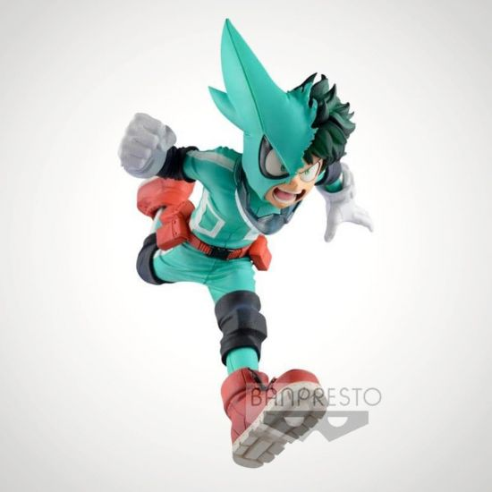 My Hero Academia Izuku Midoriya 15 cm Figure - Grey Background