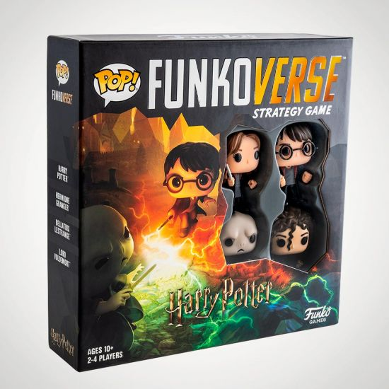 Funkoverse Harry Potter Strategy Game - grey background