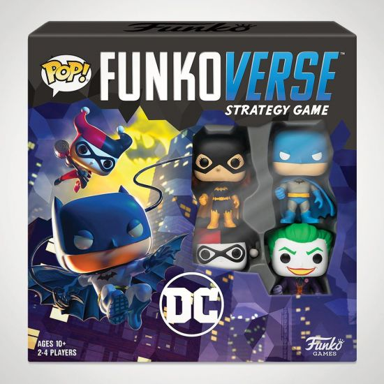 Funkoverse DC Comics Strategy Game - grey background