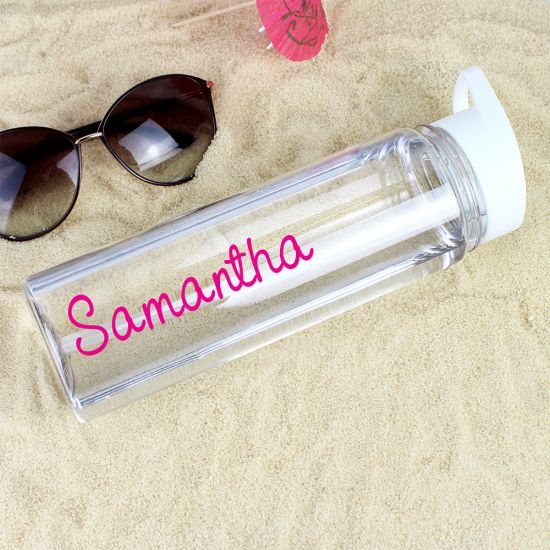 Personalised Island-Inspired Water Bottle - Lifestyle