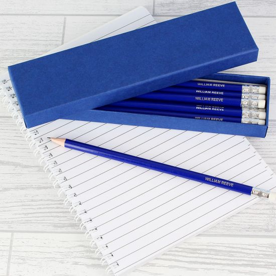 Personalised Box of 12 Pencils - Lifestyle