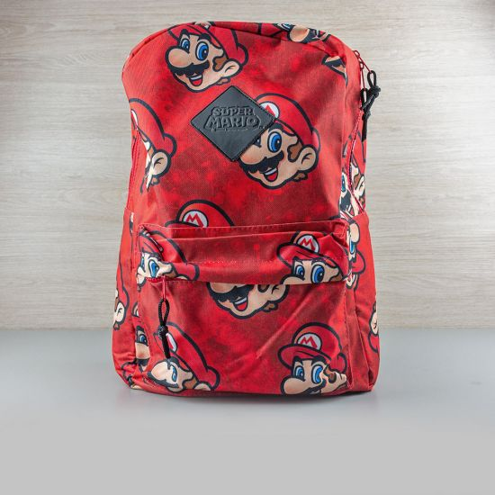 Nintendo Super Mario All-Over Print Backpack - Lifestyle