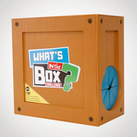 What's in the Box Challenge - grey background