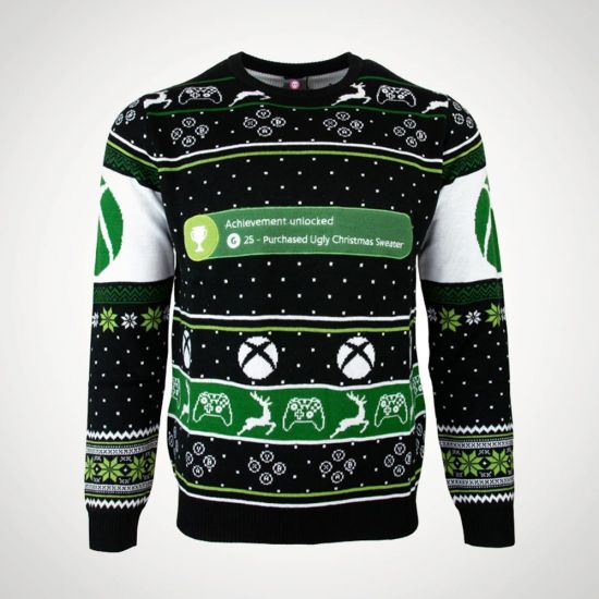 Xbox Achievement Unlocked Christmas Jumper