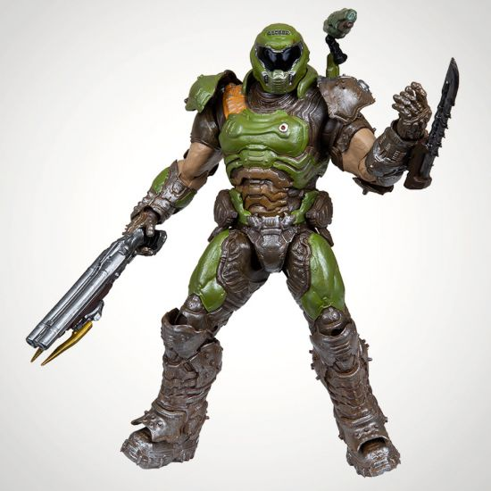 Doom Eternal McFarlane Action Figure Doom Slayer 18 cm - grey background