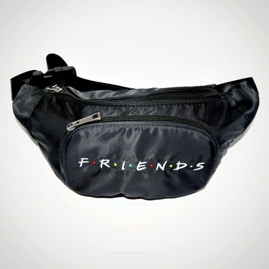 Friends Bumbag - grey background