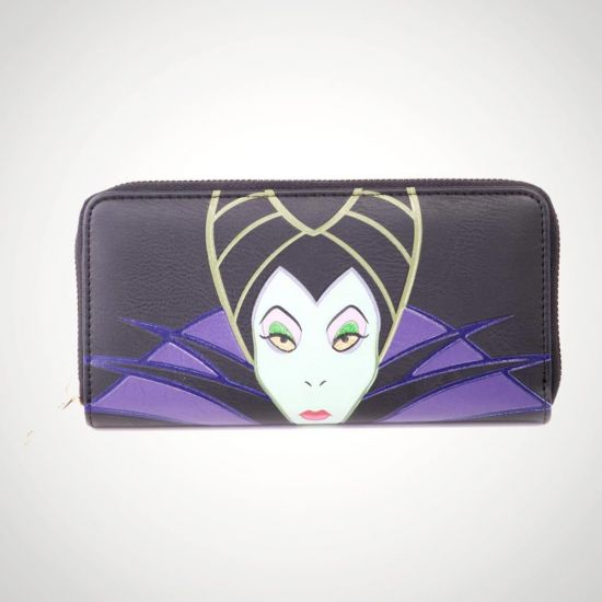 Maleficent 2 Patched Wallet - grey background