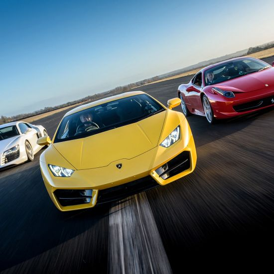 Double Supercar Taster - Lifestyle