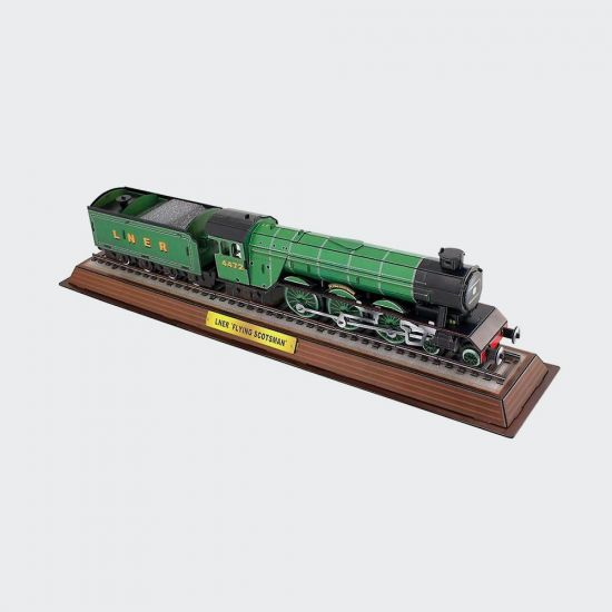 Flying Scotsman 3D Puzzle - grey background