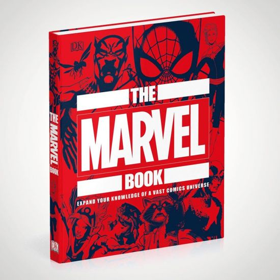 The Marvel Book - Grey Background