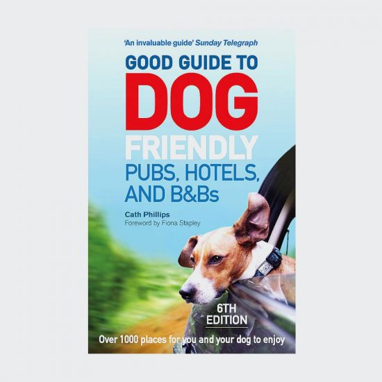 Good Guide To Dog Friendly Pubs, Hotels and B&Bs - Grey Background