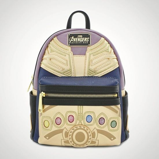 Thanos Backpack - Grey Background