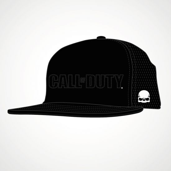 Call Of Duty Applique Snap Back - grey background