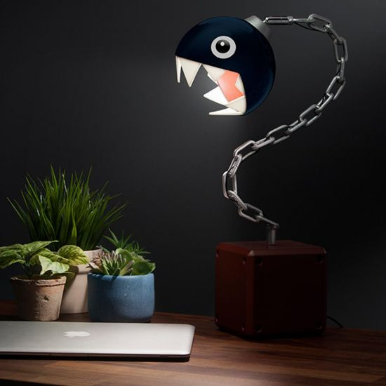 Super Mario Chain Chomp Lamp - Lifestyle