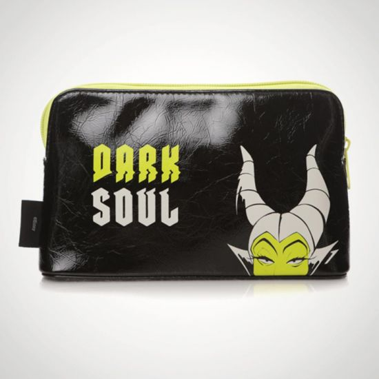 Disney Maleficent and Aurora Cosmetic Bag - Grey Background