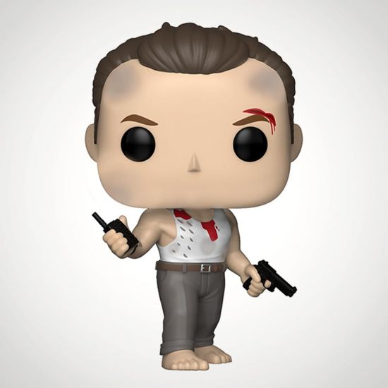 Die Hard John McClane Pop! Figure - Grey Background