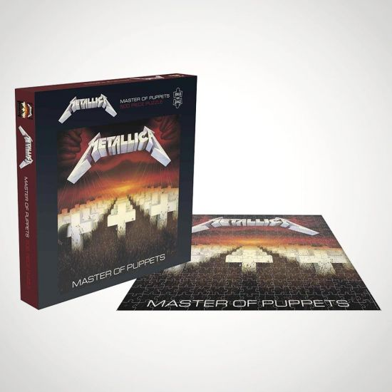 Metallica Master of Puppets Puzzle - grey
