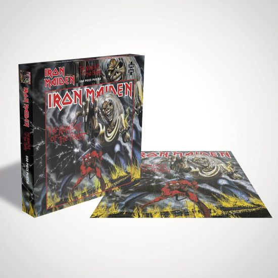 Iron Maiden The Number of the Beast Puzzle - Grey Background