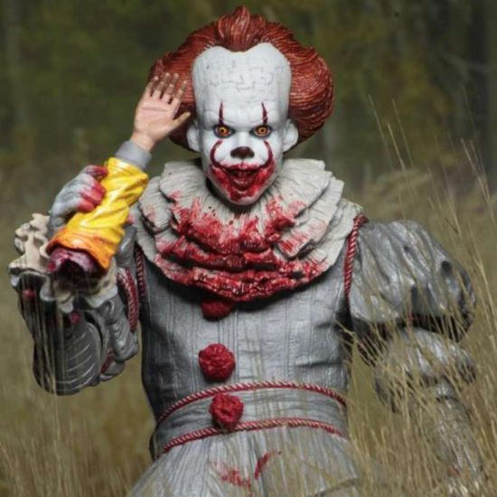 "IT Pennywise I Heart Derry 7"" Action Figure - Lifestyle"