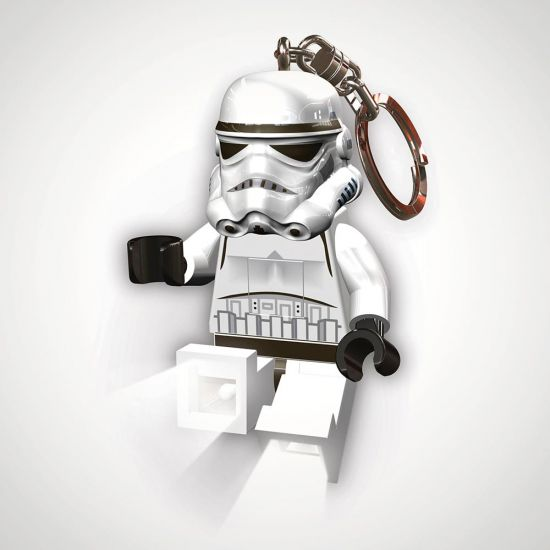 LEGO Star Wars Stormtrooper Key Light - Grey Background