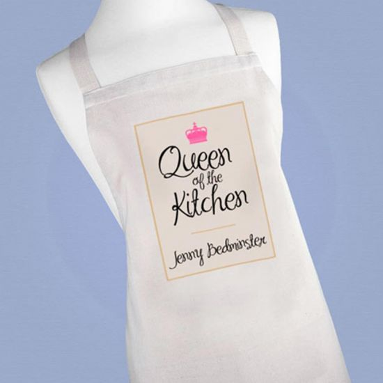 Personalised Queen of the Kitchen Apron - Lifestyle