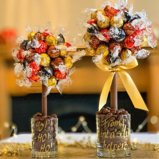 Personalised Mixed Lindt Lindor Sweet Tree - lifestyle