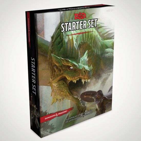 Dungeons & Dragons RPG Starter Set - Grey Background
