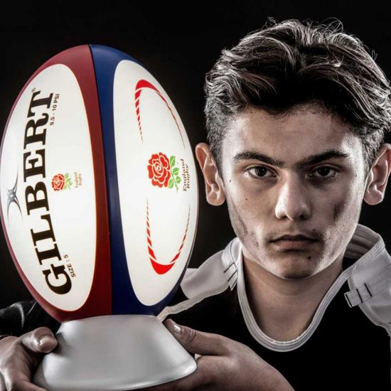 England Rugby Ball Light - Lifestyle