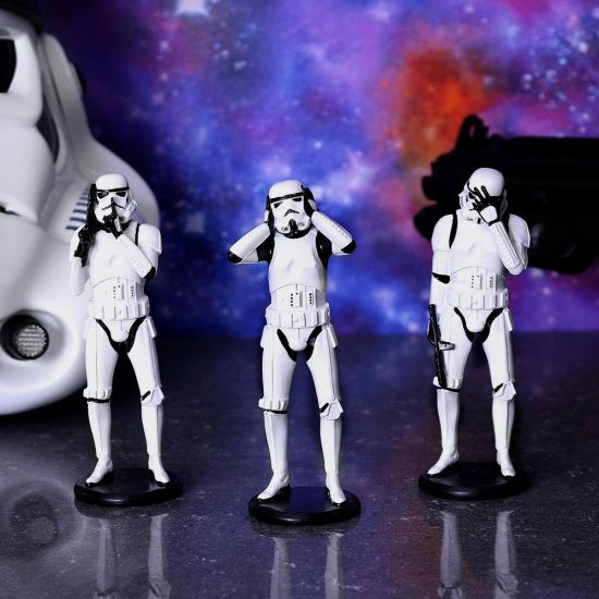 Three Wise Stormtrooper 14cm (Standing) - Grey Background