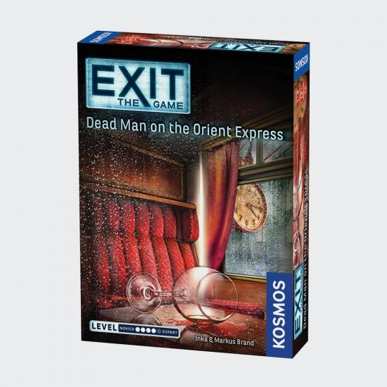 EXIT Dead Man on the Orient Express - Grey Background