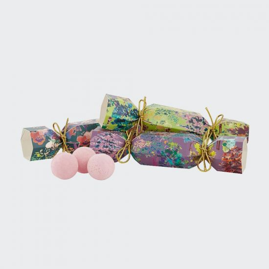 Enchanted Forest Bath Fizzer Crackers - Grey Background