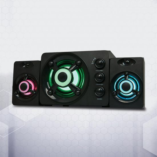 Red5 Gaming 2.1 Sound System - Grey Background