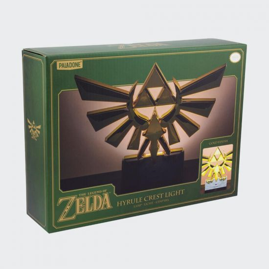 Hyrule Crest Light on grey background