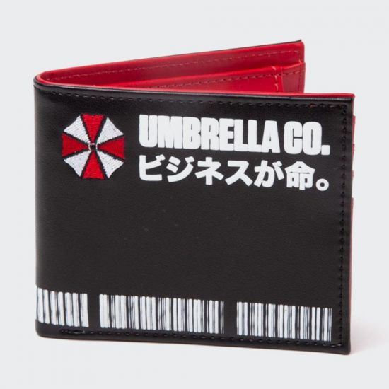 Resident Evil - Japanese Umbrella Corp Bifold Wallet grey background