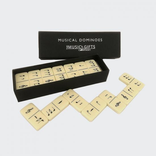 Musical Dominoes - Grey Background