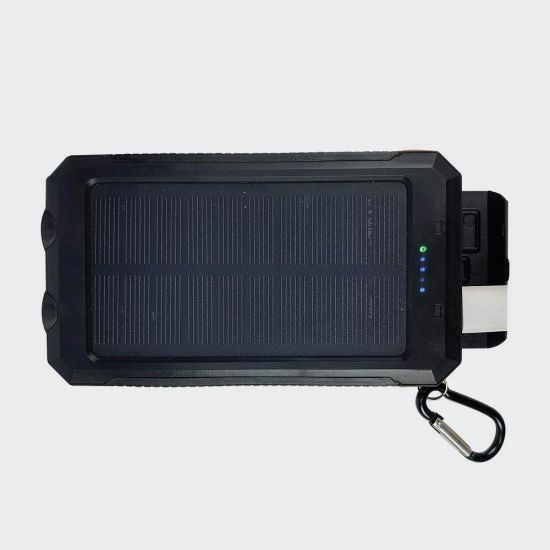RED5 Solar Power Bank - Grey Background