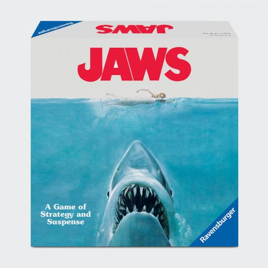 Jaws The Game on grey background