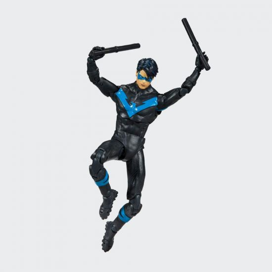 DC Rebirth Build A McFarlane Action Figure Nightwing (Better-Than-Batman) - Grey Background