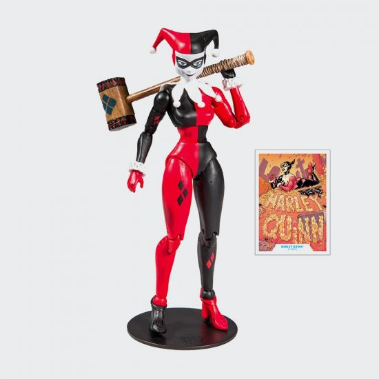 DC Rebirth: McFarlane Action Figure Harley Quinn (Classic) 18 cm - grey background
