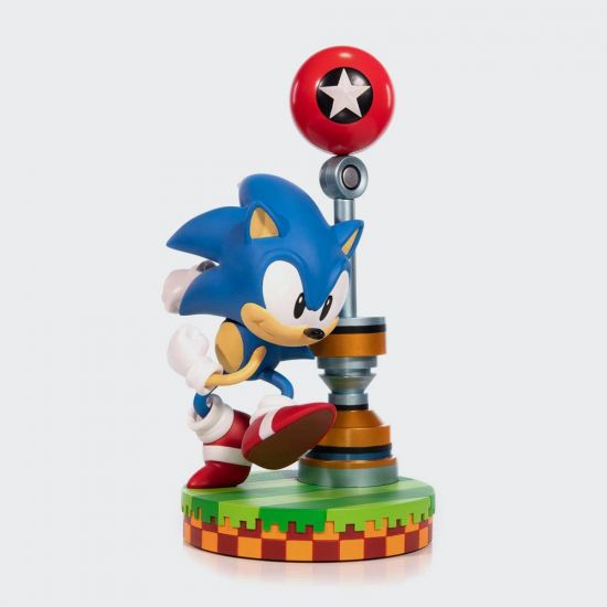 Sonic the Hedgehog First4Figures PVC Statue Sonic 28 cm - Grey Background