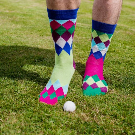 Golfing Fore! Oddsocks - lifestyle